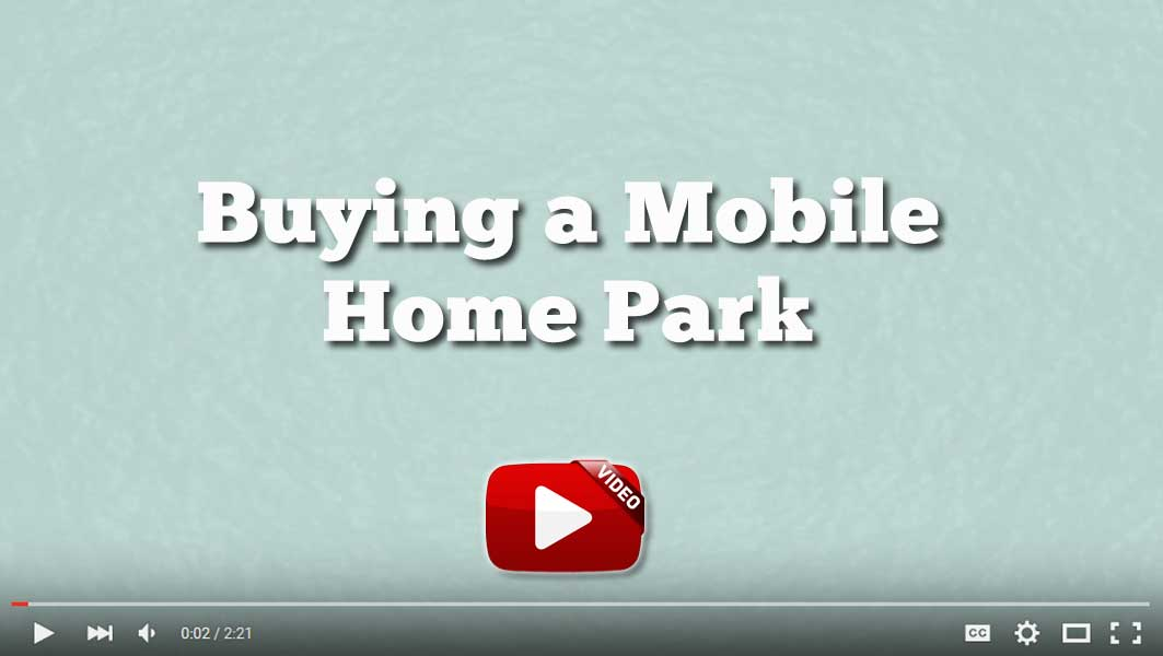 Buying A Mobile Home Park