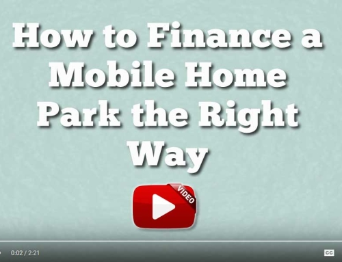 How To Finance A Mobile Home Park The Right Way
